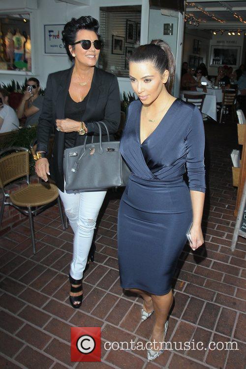 kris jenner, Kanye West and Kim Kardashian 5