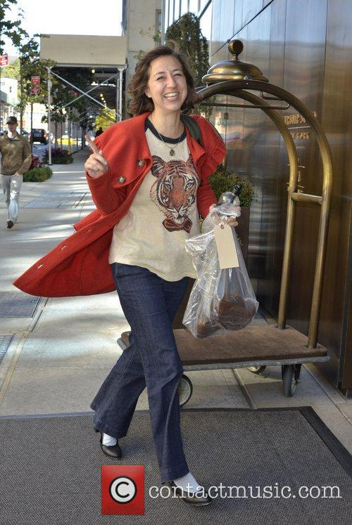 Kristen Schaal seen out in Manhatten New York...