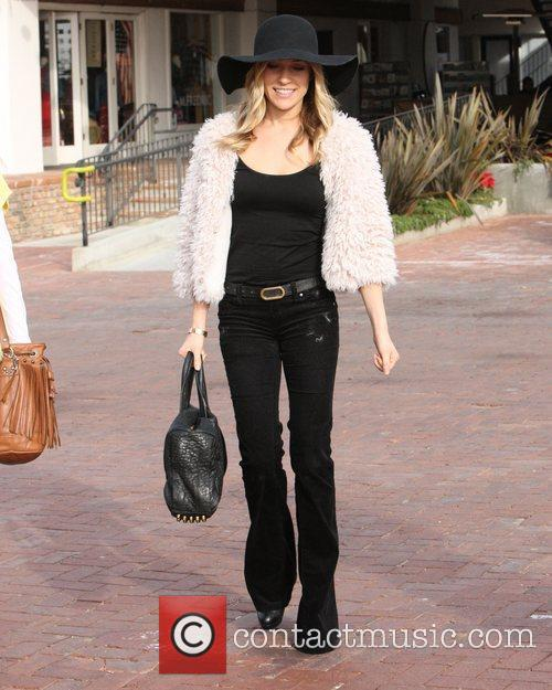 A stylish looking Kristin Cavallari is seen outside...