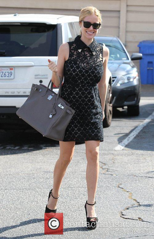 Kristin Cavallari shops in West Hollywood Los Angeles,...