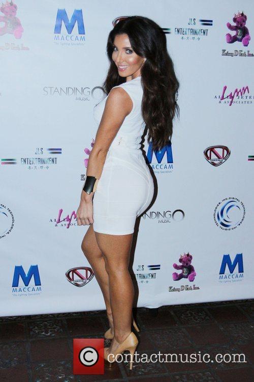 Melissa Molinaro Kristinia DeBarge celebrates her single release...