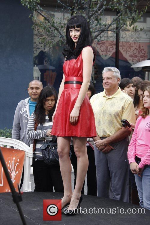 krysten ritter at the grove to appear 5953236