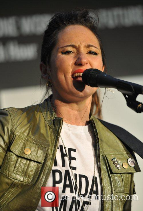 KT Tunstall WWF's Christmas Lights Switch Off held...