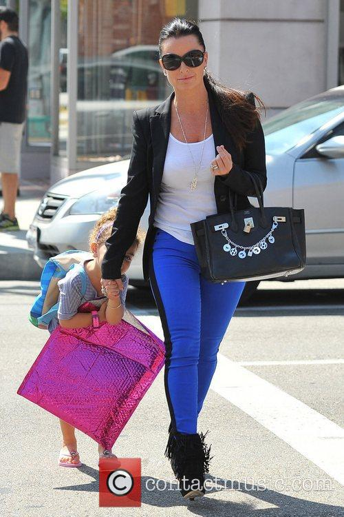 Seen out and about with daughter Portia Umansky