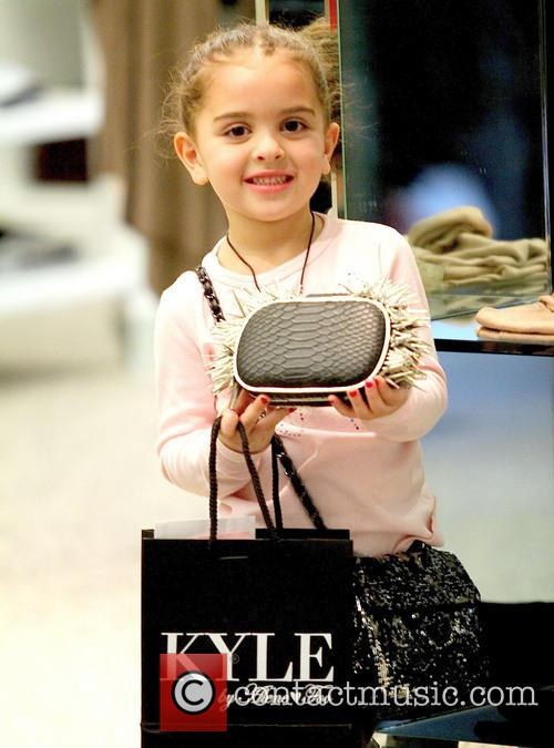 Kyle Richards; Portia Kyle Richards sighted with daughter...
