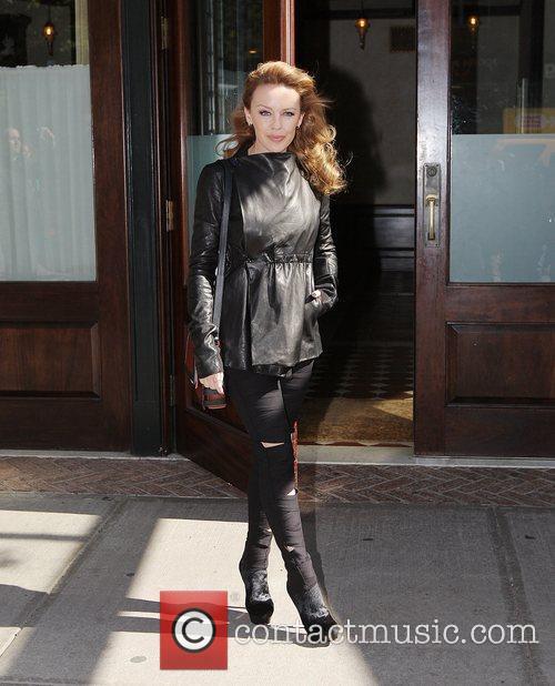 Kylie Minogue and Manhattan Hotel 2