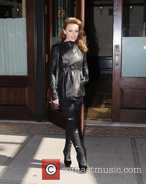 Kylie Minogue and Manhattan Hotel 5