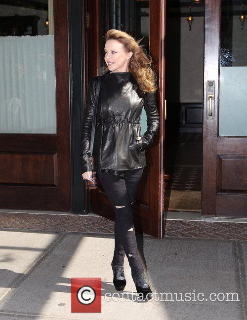 Kylie Minogue and Manhattan Hotel 3