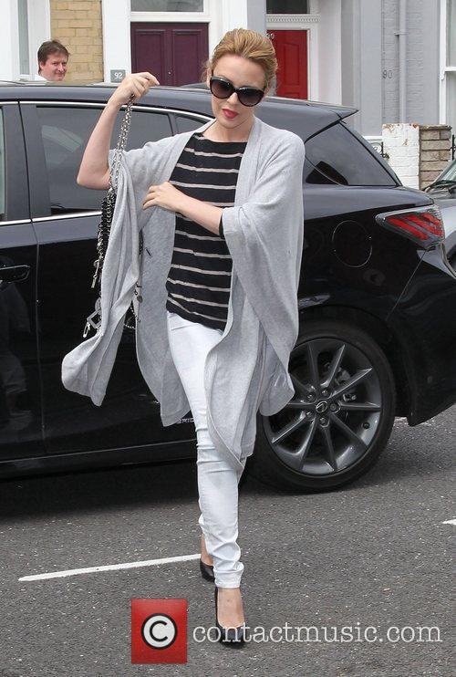 kylie minogue visits her management company london 3993955