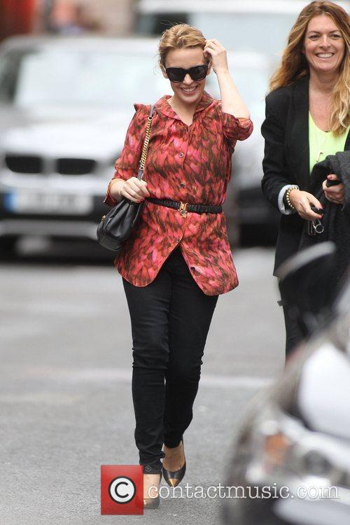 kylie minogue out and about in central 3870336