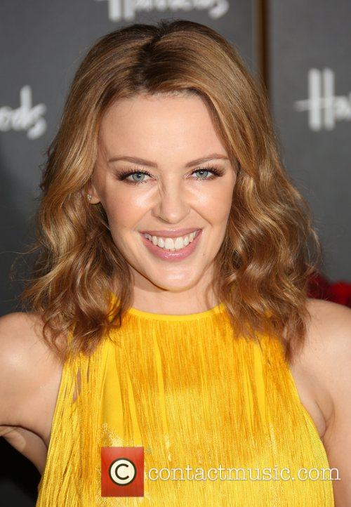 Kylie Minogue, Fashion, Harrods