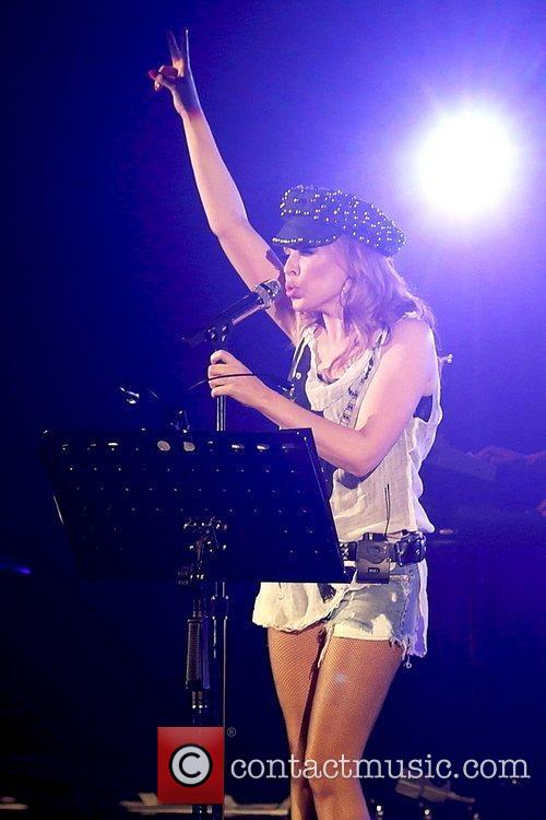 Kylie Minogue performing her Anti Tour at the...