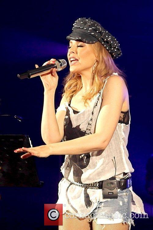 Kylie Minogue and Hammersmith Apollo 3