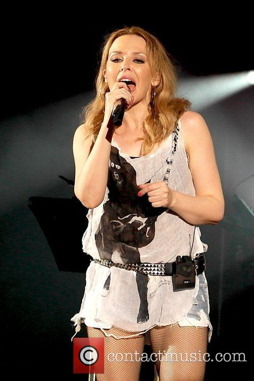 Kylie Minogue and Hammersmith Apollo 9