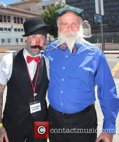 The Los Angeles Beard and Mustache Competition at...