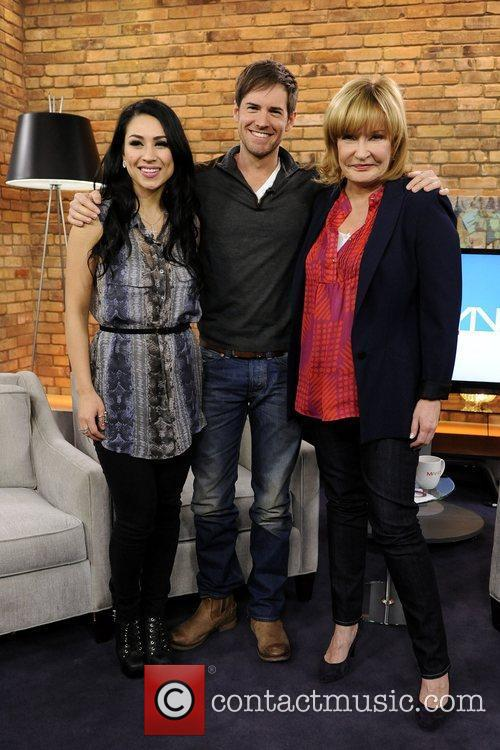 Cassie Steele, Jonathan Patrick Moore, and Marilyn Denis...