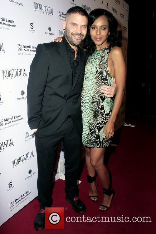 Guillermo Diaz and Kerry Washington 1
