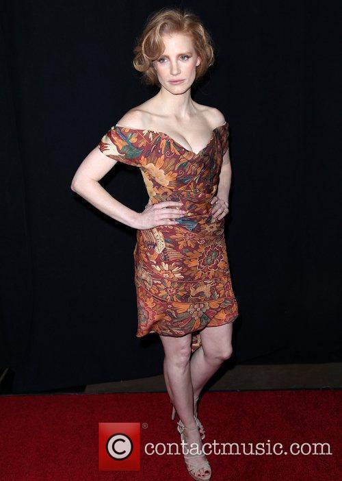Jessica Chastain 37th Annual Los Angeles Film Critics...