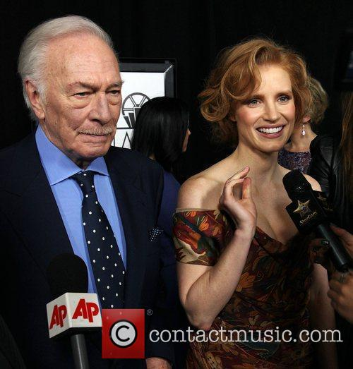 Christopher Plummer and Jessica Chastain 37th Annual Los...