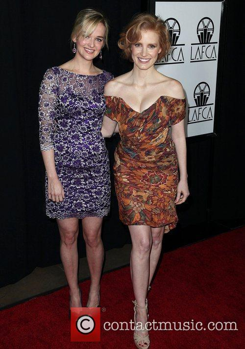 Jessica Chastain and Guest 37th Annual Los Angeles...