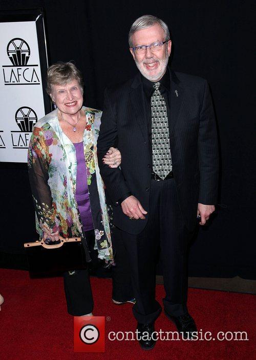 Leonard Maltin and wife Alice Tlusty Maltin 37th...