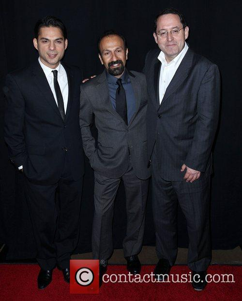Peyman Moadi, Asghar Farhadi and Guest 37th Annual...
