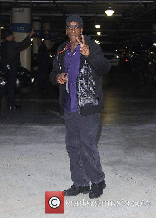 Arsenio Hall  Arrivals for the LA Kings...
