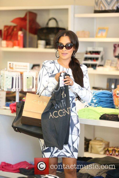 Alani 'La La' Anthony seen shopping with Po...