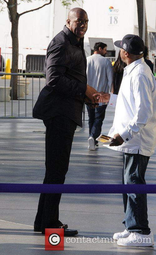 Magic Johnson and Staples Centre 5