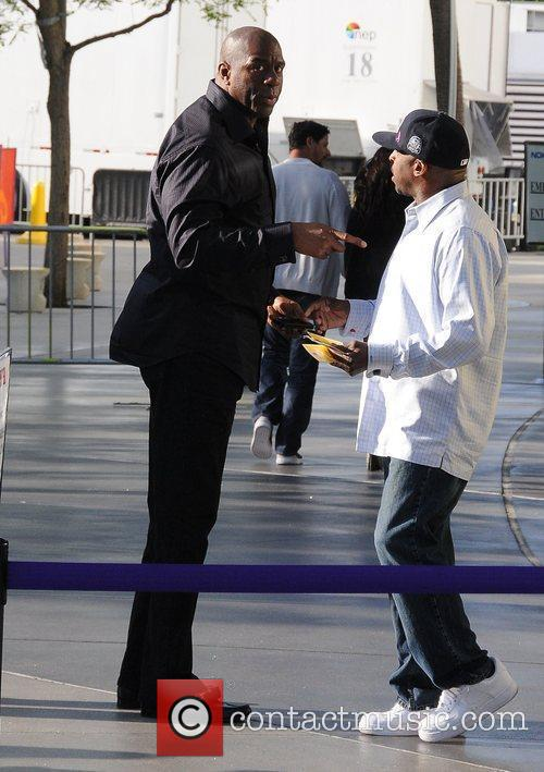 Magic Johnson and Staples Centre 6