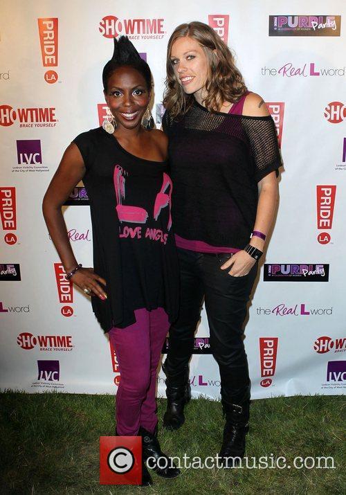 DJ Asha and Guest LA Pride 2012 -...