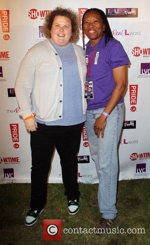 Fortune Feimster and Vallerie D Wagner LA Pride...