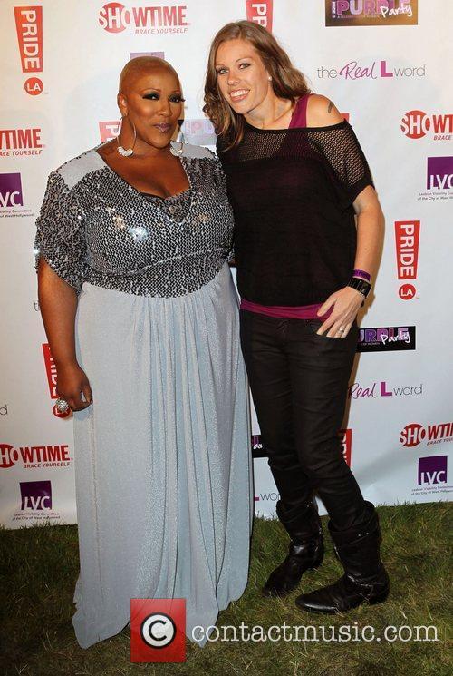 Frenchie Davis and Guest LA Pride 2012 -...