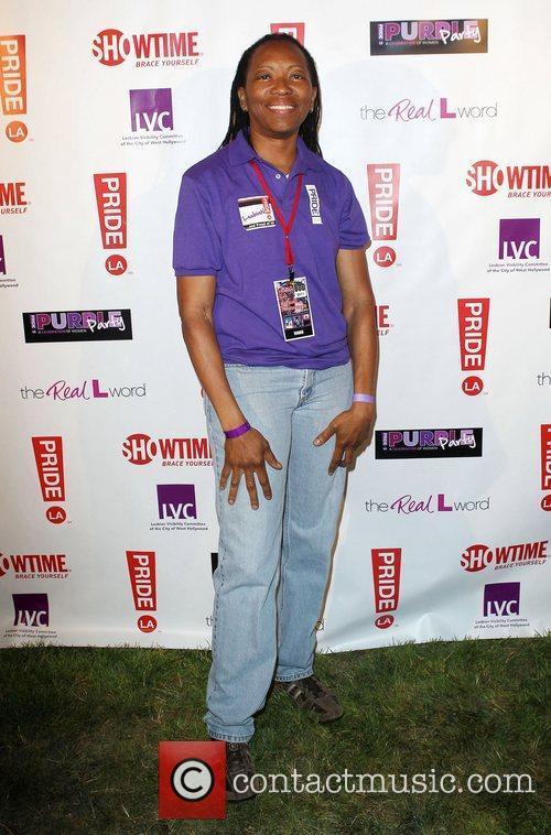 Vallerie D Wagner LA Pride 2012 - Purple...