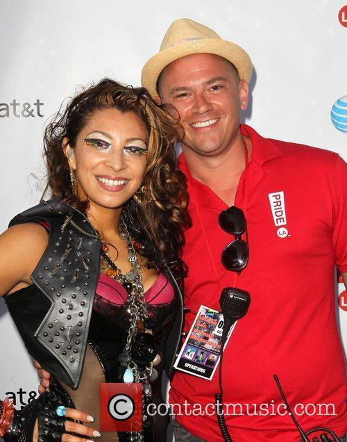 Kelsey B and Jeff Consoletti LA Pride 2012...