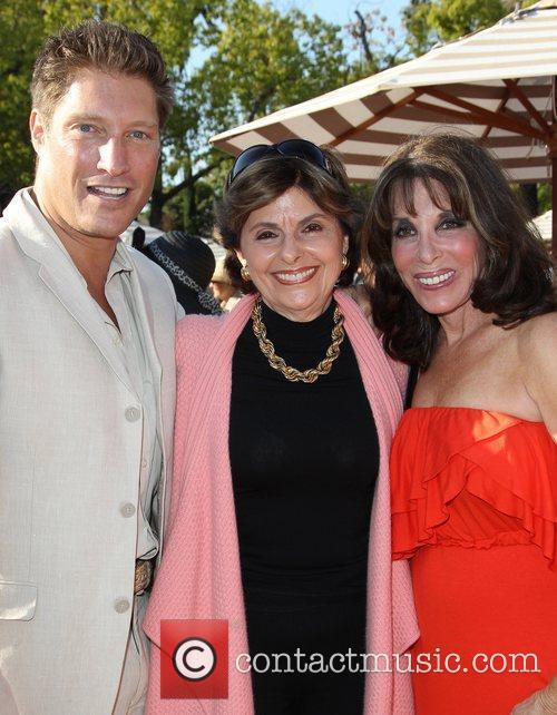 Sean Kanan, Gloria Allred and Kate Linder 1