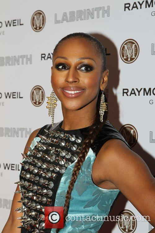 Alexandra Burke,  at the Labrinth special dinner...