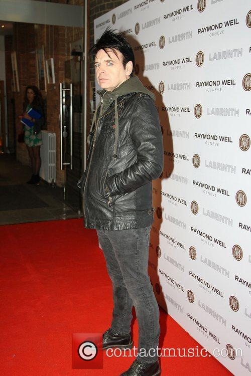 Gary Numan,  at the Labrinth special dinner...