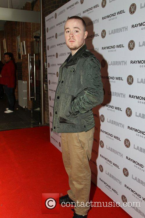 Maverick Sabre,  at the Labrinth special dinner...