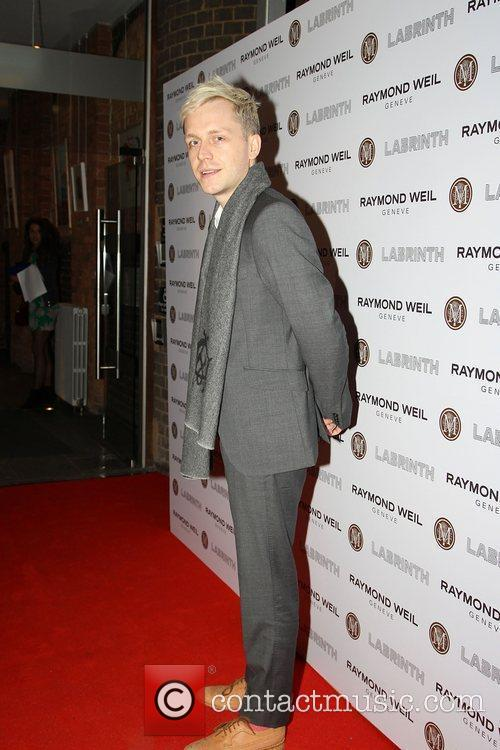 Mr Hudson,  at the Labrinth special dinner...