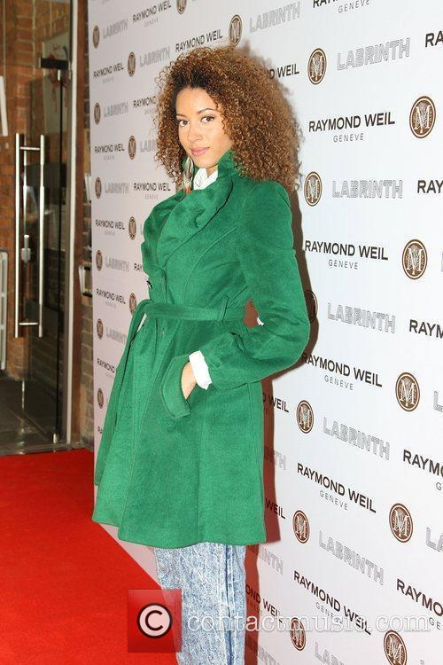Mz Bratt,  at the Labrinth special dinner...