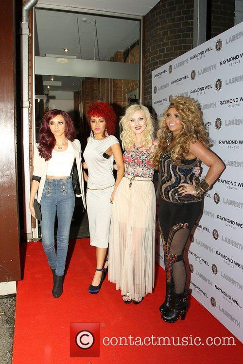 Perrie Edwards, Jesy Nelson, Leigh-Anne Pinnock and Jade...