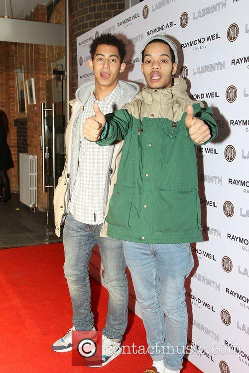 Rizzle Kids,  at the Labrinth special dinner...