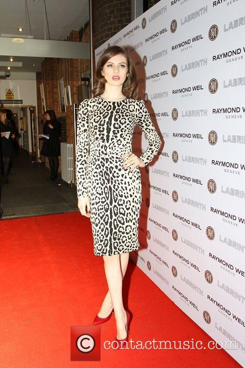 Tali Lennox,  at the Labrinth special dinner...