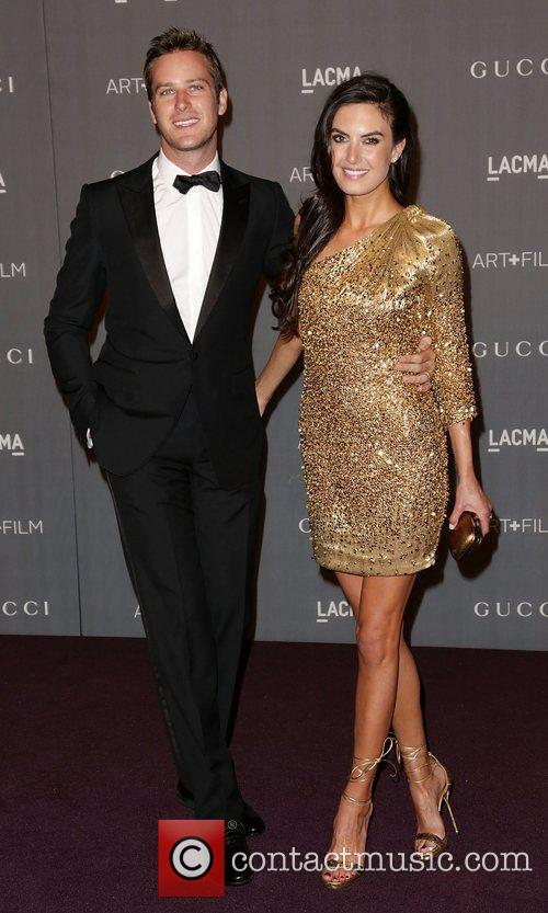 Armie Hammer and Elizabeth Chambers 2
