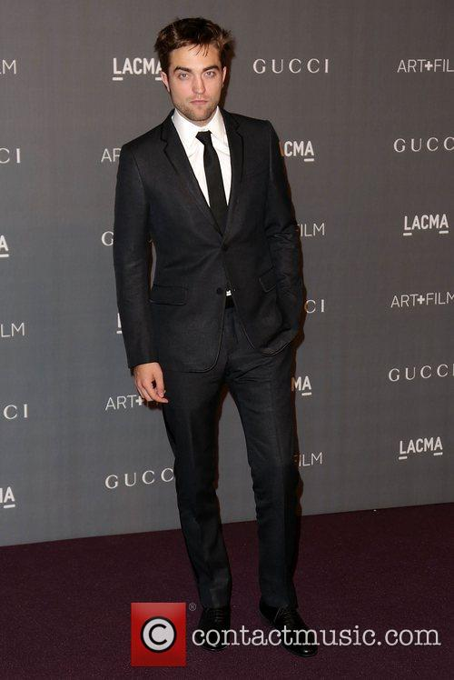 Robert Pattinson At LACMA Gala