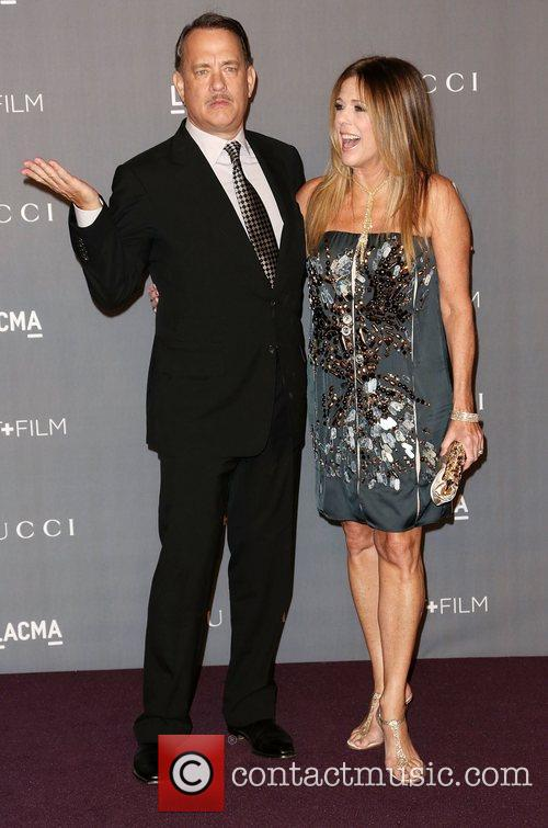 Tom Hanks And Rita Wilson At LACMA