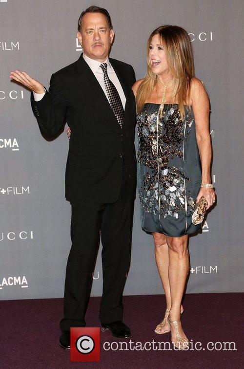 Tom Hanks And Rita Wilson At LACMA