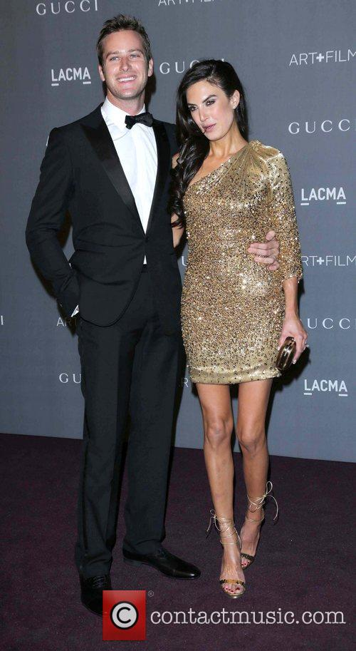 Elizabeth Chambers and Armie Hammer 3
