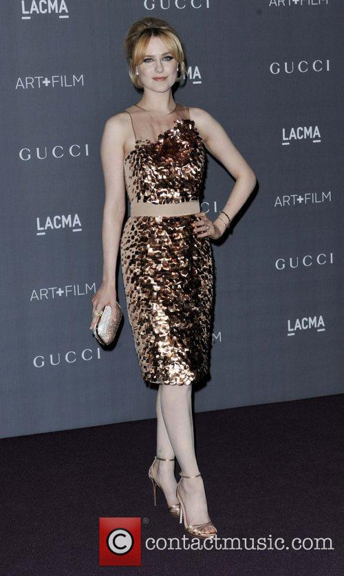Evan Rachel Wood At LACMA Gala